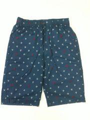 錨・ヨット柄ハーフパンツ Mサイズ 紺×白【新品タグ付き】