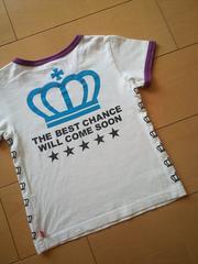 中古Tシャツ90白ベビードールBABYDOLLベビド