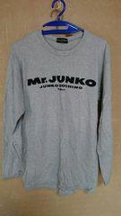 Mr.JUNKO●グレーロンT●Mサイズ