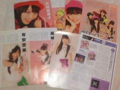 ももいろクローバーZ(ももクロ)日経エンタテインメント切り抜き8枚 2012年