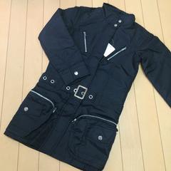 新品◆レイアリス◆中綿入ワンピースコート◆130140ベルト付