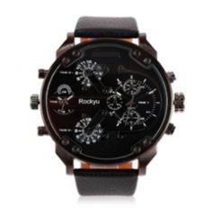 人気 腕時計 メンズ レディース カジュアルブラックブラック