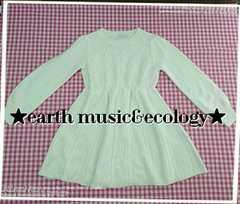 earth music&ecology♪ホワイトニット♪