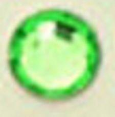● 3mm ● デコ用ストーン  2000粒 グリーン