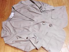 エスプリミュール/ESPRITMUR ストライプ柄袖捲りジャケット