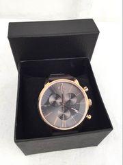 カルバン・クライン シティ K2G276G3 ゴールド メンズ 腕時計