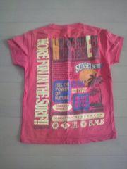【BMB】Tシャツ赤オレンジ系