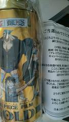 当選非売品コカ・コーラ×ワンピースゴールド貯金缶いりTシャツ