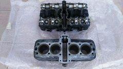 Z400FX シリンダー&シリンダーヘッドZ550FXゼファー400GS400CBX400エンジンキャブマフ