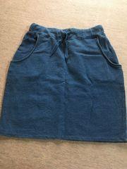 RCWB((スウェット地膝丈スカート((F、紺系色、数回着用