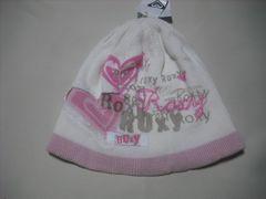 wb790 ROXY ロキシー ニット帽 ビーニー 白