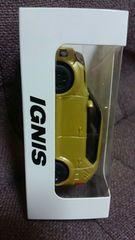 スズキ 非売品 イグニス プルバックカー 未使用 ゴールドカラー 新品状態