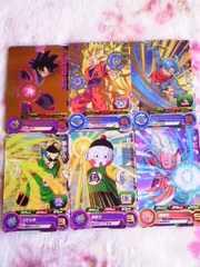 スーパードラゴンボールヒーローズ☆カードグミ☆6枚セット