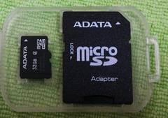 新品箱なし◇ADATAマイクロ32GB microSD32GB