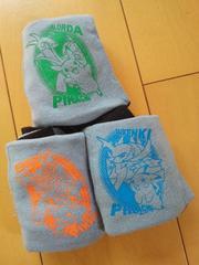 新品ボクサーブリーフ肌着3枚組110グレー☆ポケットモンスター