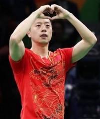 卓球ユニフォーム オリンピック金メダリスト使用モデル(赤M)