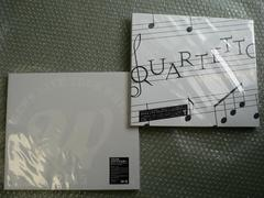 新品/NEWS【LIVE 2015 WHITE/2016 QUARTETTO】初回盤/2枚set