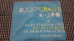 即決/早い者勝ち/貴重/GLAY/JIRO/大阪数量限定バギクラ タオルマフラー