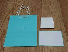 ティファニ- Tiffany ショッパー ポストカード メッセージカード