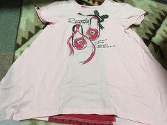 チュニックTシャツ☆ピンク