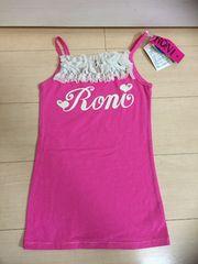 ◆ 新品 未使用 ◆ RONI ◆ ピンク キャミソール 洋服定価5880円