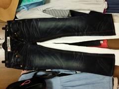 ドライブジーンズ ブーツカット インディゴ 24サイズ