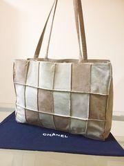 1円 ◆正規品◆ 超美品 シャネル レザー トート バッグ
