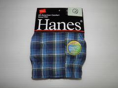 即決 Hanes  ヘインズ トランクス 前開き Mサイズ�A
