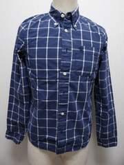 4052014 アバクロ ボーイズ用 長袖チェックシャツ XL