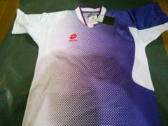 LottoサッカーゲームシャツMパープル