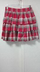 ★DENIM&SUPPLY RALPH LAURENラルフローレン★ネルチェックティアードミニスカート