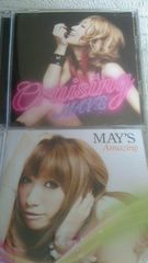 MAY'S!!3枚!!初回DVD付き有り!!MIHIRO!!JAY'ED!!MAY J. メイズ