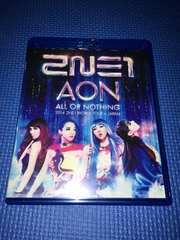 2NE1 Blu-ray 2014 WORLD TOUR ALL OR NOTHING in JAPAN