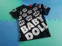 BABYDOLL☆王冠ロゴTシャツ☆ベビードール 美品