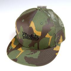 新品 ELECTRIC/メッシュキャップ/迷彩/エレクトリック 帽子