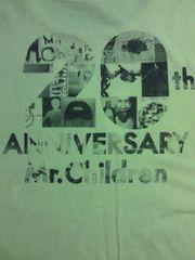Mr.Children ミスチル 20周年 コンサート 限定 Tシャツ イエロー Sサイズ CDデザイン
