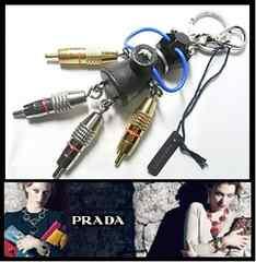 PRADA 1TR012/NERO JASONロボット フック付きキーリング 39,960円 新品