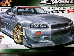 スカイラインR34 GTR