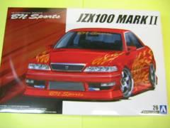 アオシマ 1/24 ザ・チューンドカー No.26 BNスポーツ JZX100 マーク�U ツアラーV '98