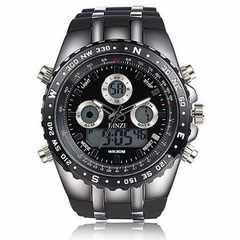 今回のみ3890円★超人気 BINZI軍事腕時計 日本製メンズ