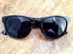新品! 定番 人気のウェイファーラーサングラス 黒