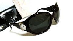 正規未 レア! BVLGARI ブルガリ B-zero×チクラディ 4連装飾サングラス黒×紫