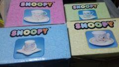 スヌーピーのミニカップセット 4種類