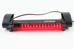 わけあり★手軽サイズ 汎用14連LEDハイマウントストップランプ