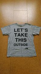 THE NORTH FACE デカロゴTシャツ(Mサイズ)