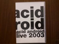 acid android「live 2003」DVD/L'Arc-en-Ciel