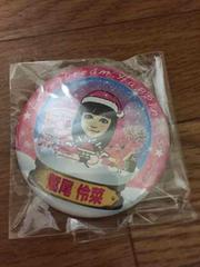 クリスマス 缶バッジ E-girls Flower 鷲尾伶菜 ガチャ