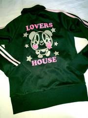 #LOVERS HOUSE#ジャージ上130ラバーズハウス