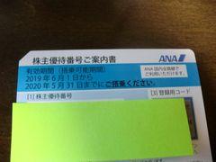 送料込み!ANA(全日空)株主優待券割引券1枚 来年5月末迄