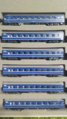 Nゲージ未走行品KATO 10-599 14系寝台特急さくら佐世保編成6両セット